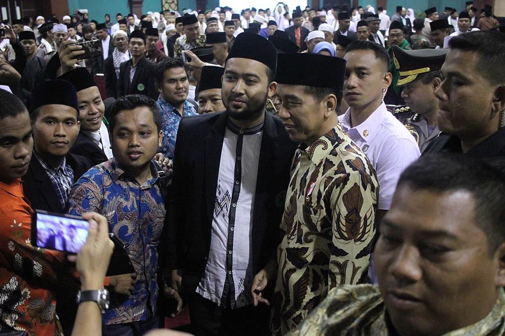 Jokowi Buka Pendidikan Kader Ulama MUI di Bogor