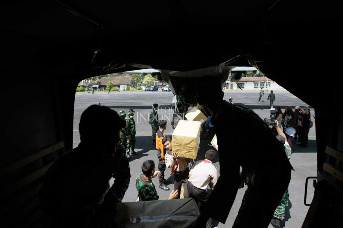 Bantuan untuk Korban Gempa Tiba di Lombok