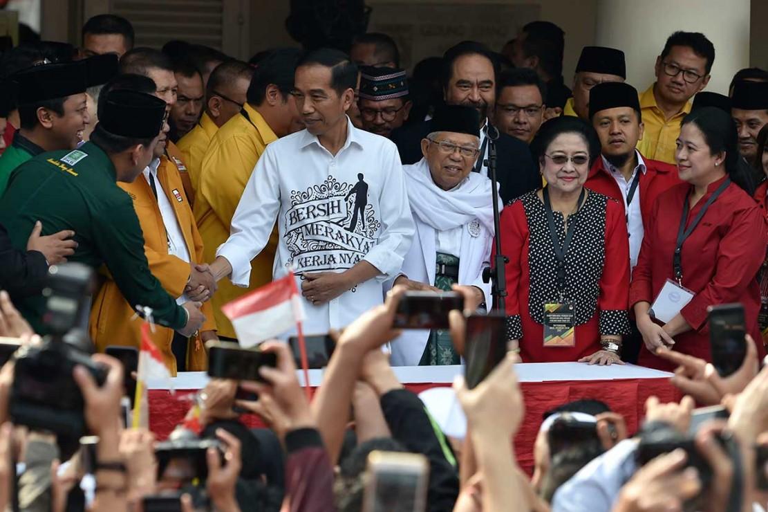 Pidato Jokowi Sebelum Mendaftar ke KPU