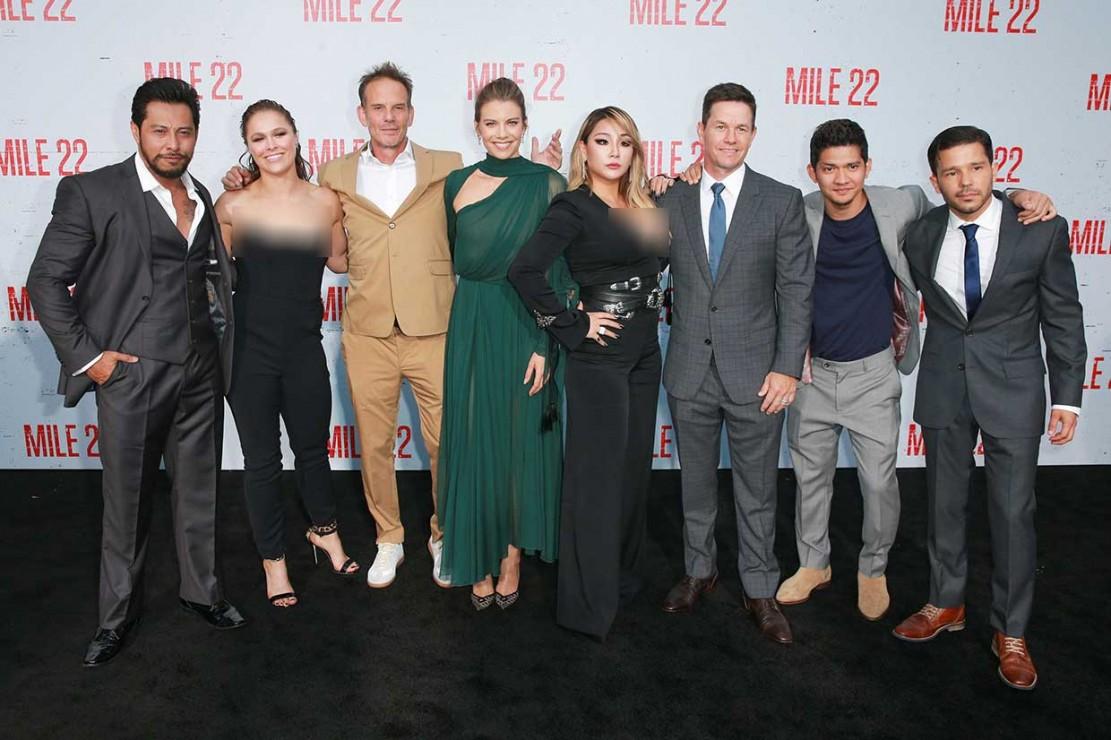 Iko Uwais Pamer Pencak Silat di Premiere Mile 22 di California