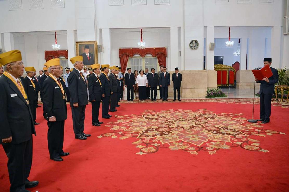 Jokowi Kukuhkan DPP LVRI