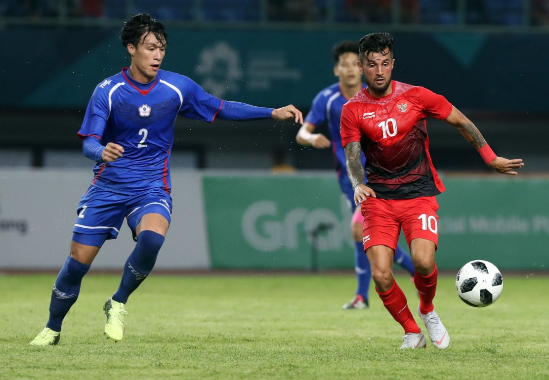 Timnas Indonesia U-23 Gilas Taiwan 4-0 di Asian Games 2018