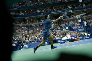 Djokovic kini telah mengoleksi 14 titel Grand Slam, menyamai rekor Pete Sampras.