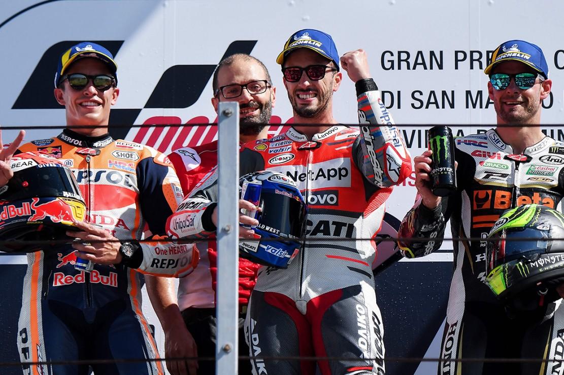 Dovizioso Juarai MotoGP San Marino 2018