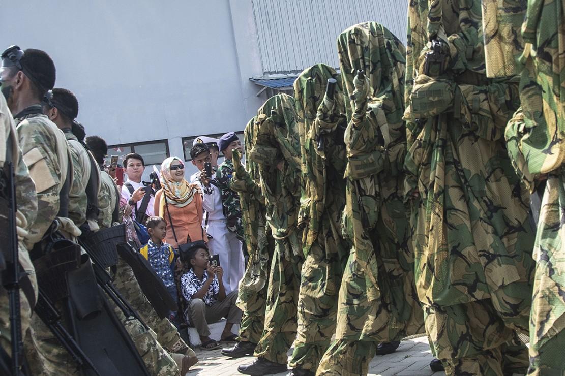 Perayaan HUT ke-73 TNI AL