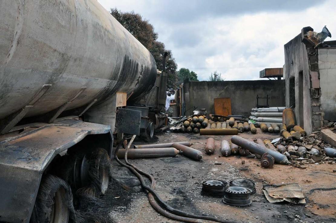 SPBU di Nigeria Meledak, 9 Orang Tewas