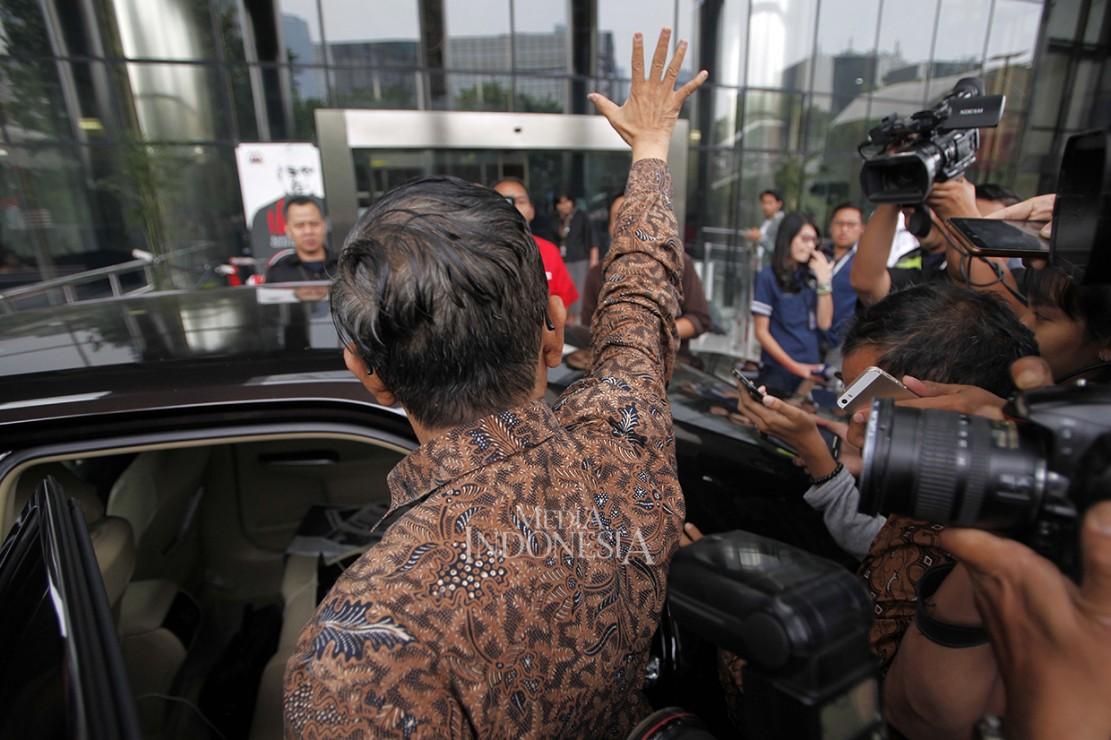 Mahfud MD Sambangi KPK Bahas Soal Antikorupsi