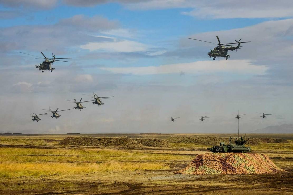 Rusia Gelar Latihan Perang Terbesar