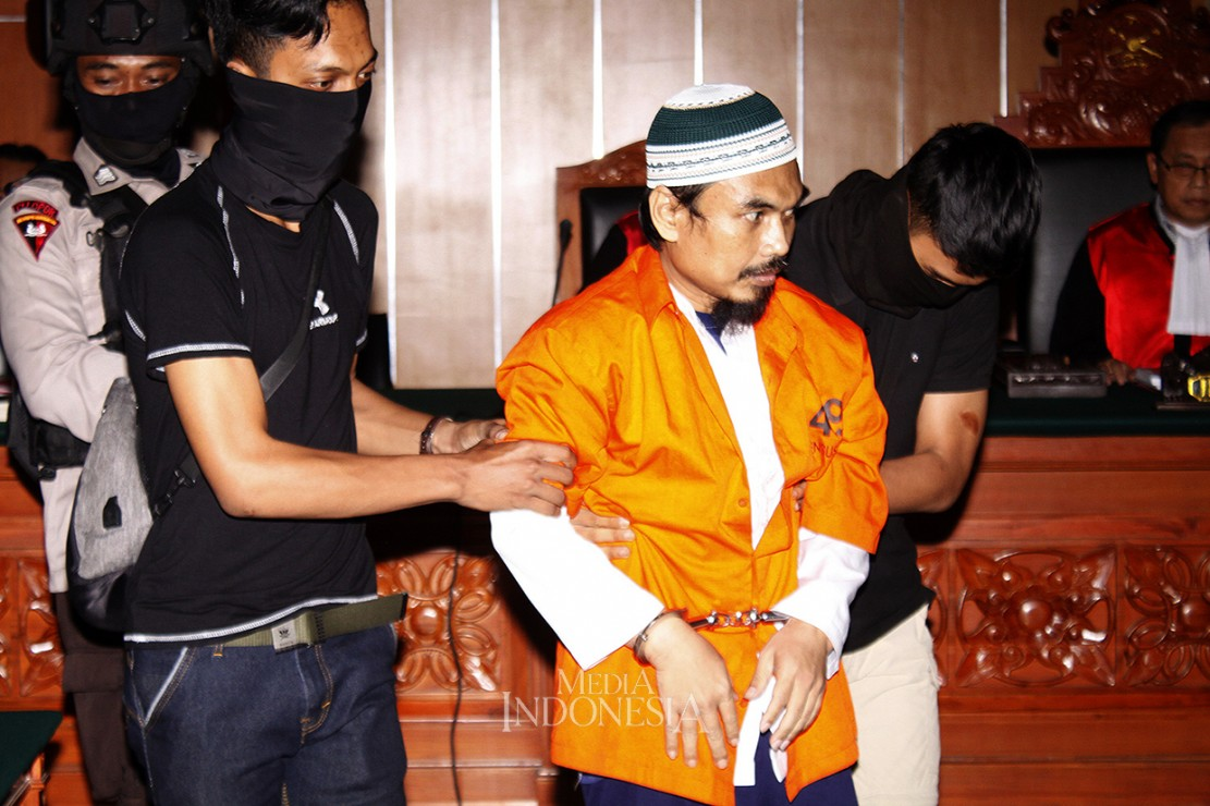 Terdakwa Terorisme Abu Afif Divonis 11 Tahun Bui