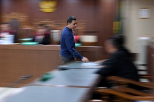 Mantan Direktur CV Iwan Binangkit Ahmad Ghiast menjalani sidang dengan agenda pembacaan putusan di Pengadilan Tipikor, Jakarta.