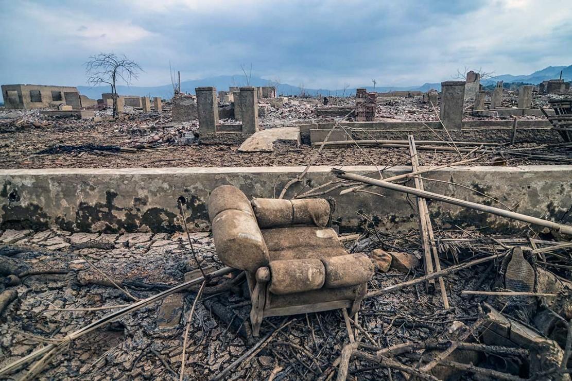 Munculnya Permukiman yang Hilang di Jatigede