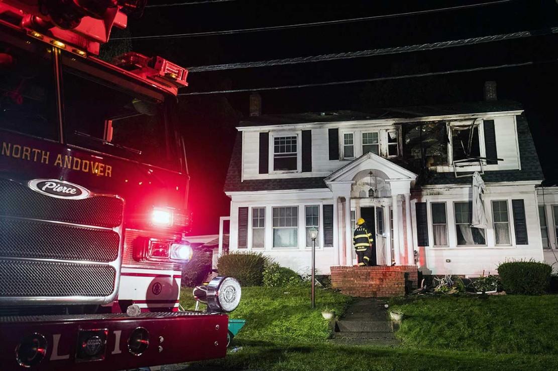 Puluhan Ledakan Terjadi di Permukiman Massachusetts