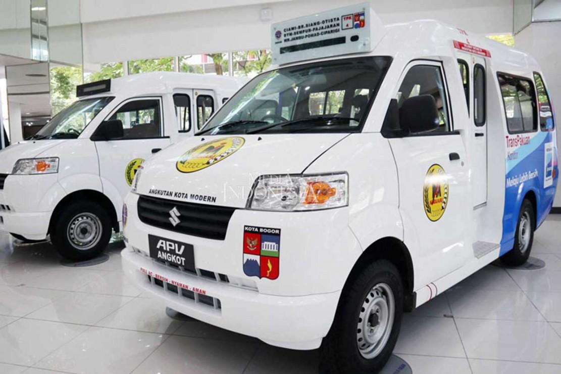 Warga Bogor Bersiap Sambut Angkot Modern