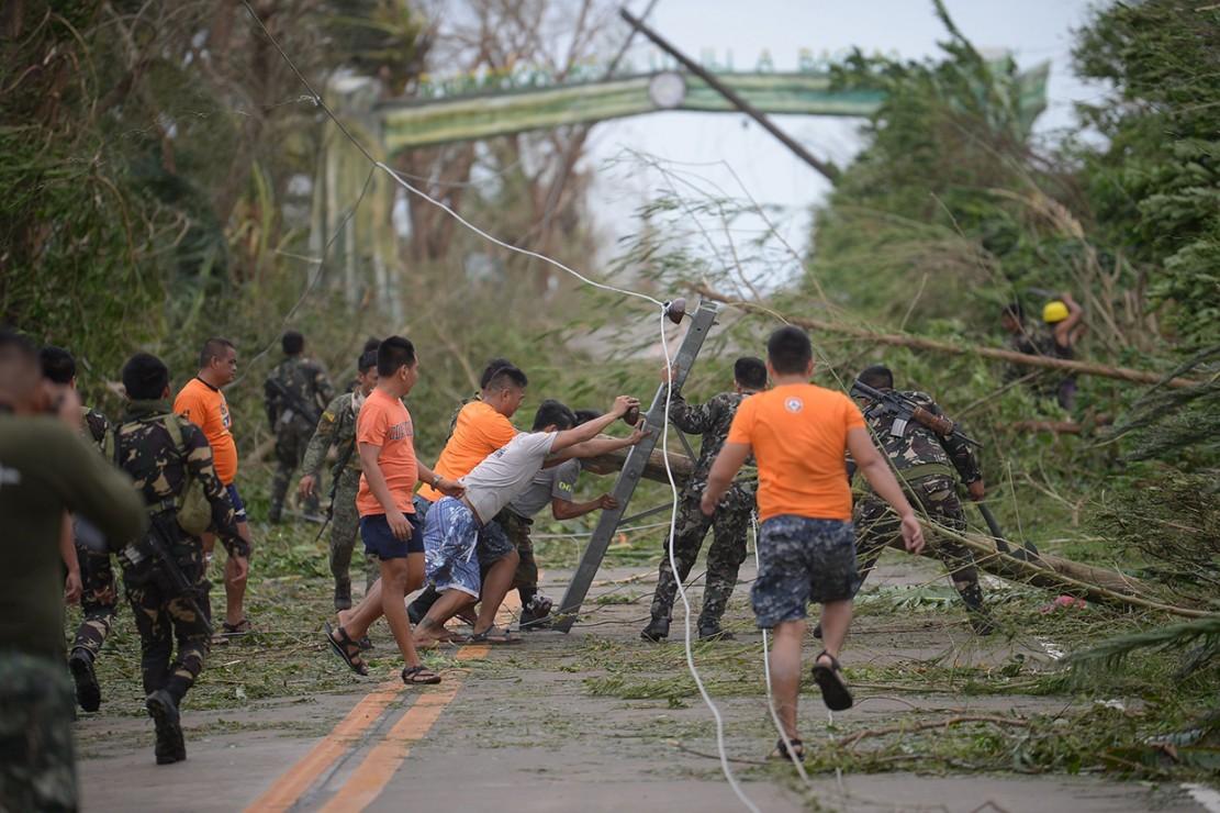 Begini Kerusakan Akibat Badai Mangkhut di Filipina