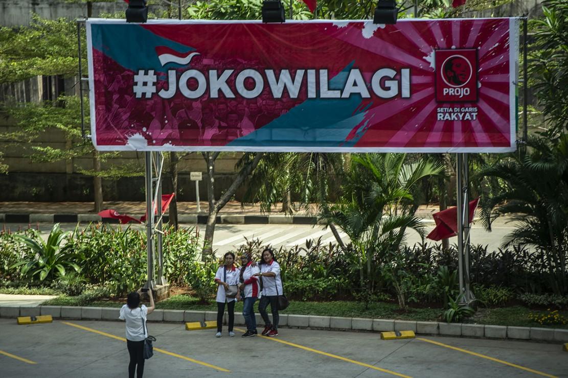 Jokowi Sebut Projo Bukan Relawan 'Kardus'