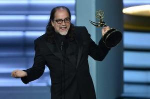 Awalnya Glenn mendedikasikan penghargaan ini untuk ibunya yang meninggal beberapa minggu sebelum penghargaan Emmy Awards.