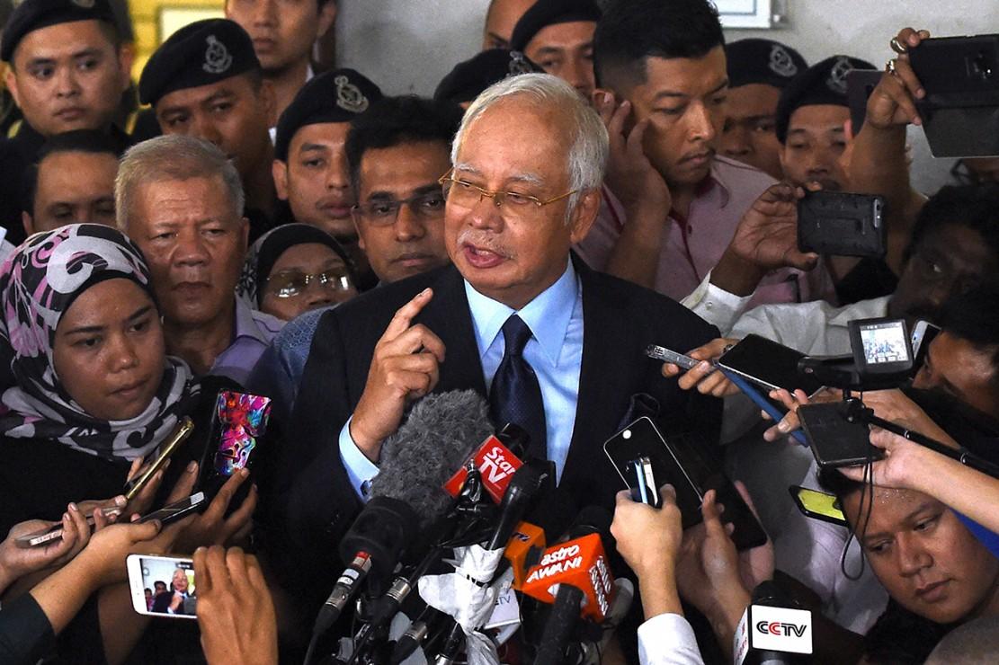 Najib Razak Dikenai 25 Dakwaan Korupsi dan Pencucian Uang