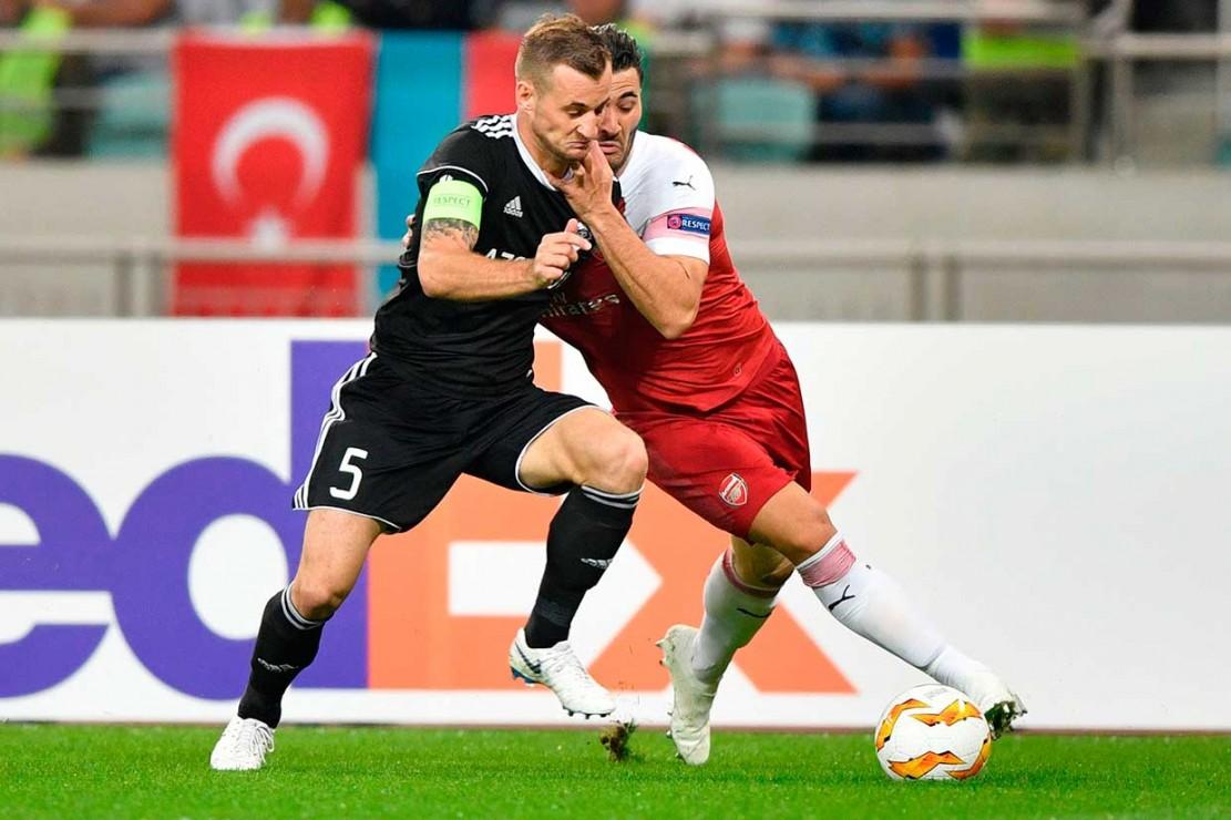 Arsenal Hajar Qarabag 3-0