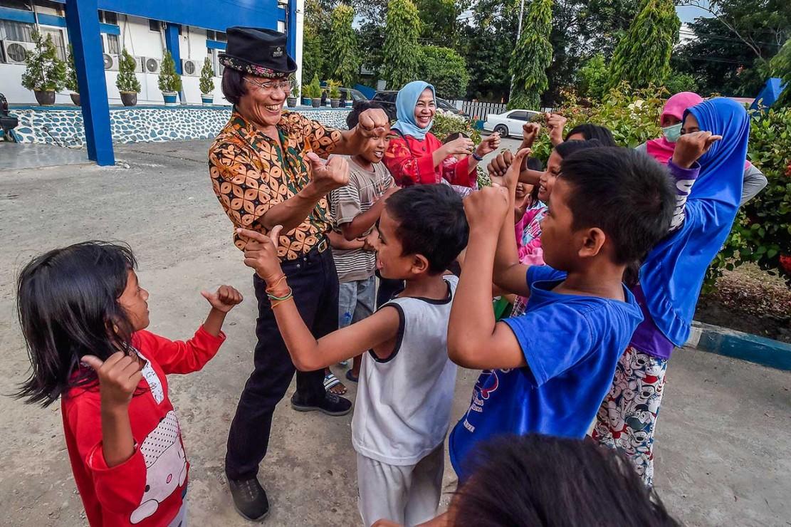 Kak Seto Gelar Trauma Healing untuk Anak Korban Gempa