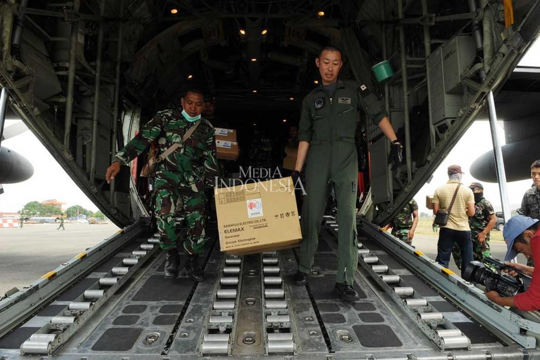 8 Ton Bantuan Jepang Tiba di Palu