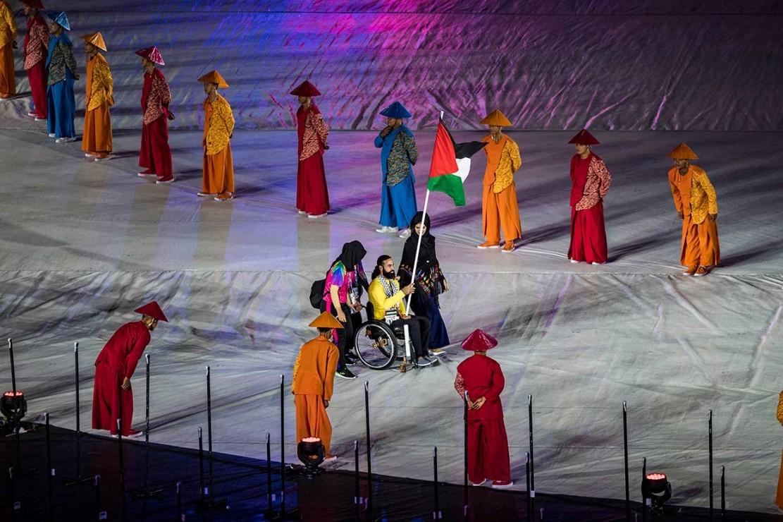 Pembukaan Asian Para Games Berlangsung Meriah