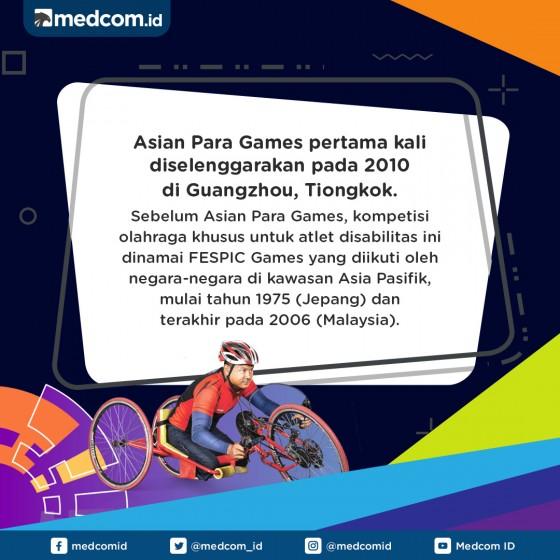Sejarah Asian Para Games