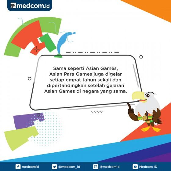 Asian Para Games Digelar Satu Paket dengan Asian Games