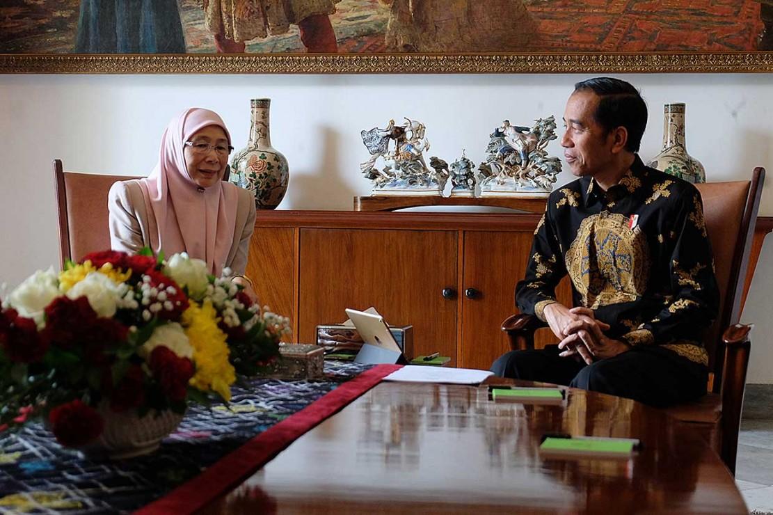 Bantuan Korban Gempa, Jokowi Berterima Kasih kepada Malaysia