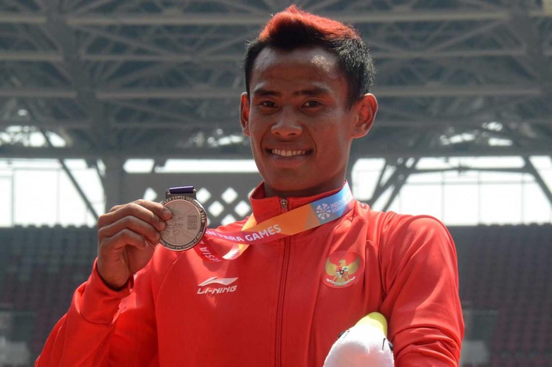 Indonesia Tambah Perak dari Lari 200 Meter Putra