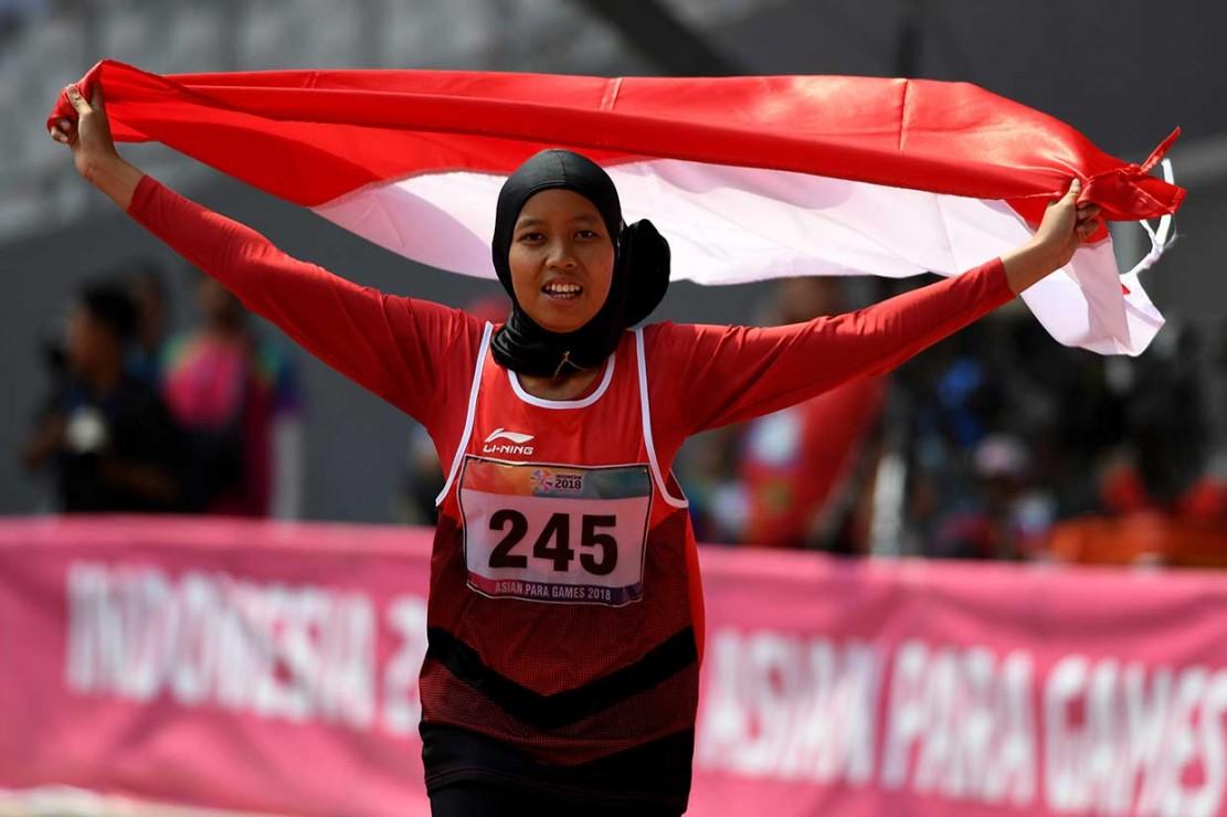 Karisma Evi Tiarani Sumbang Emas Ke-9 Indonesia