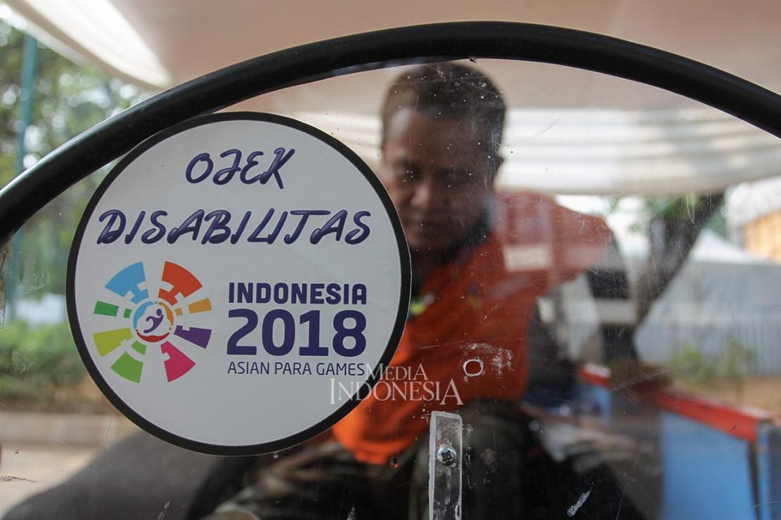 Ojek Disabilitas Siap Antar Pengunjung ke Venue Asian Para Games