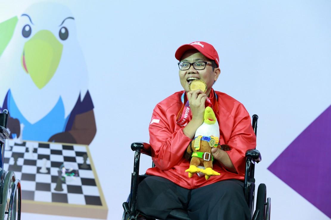 Catur Sabet 6 Emas untuk Indonesia