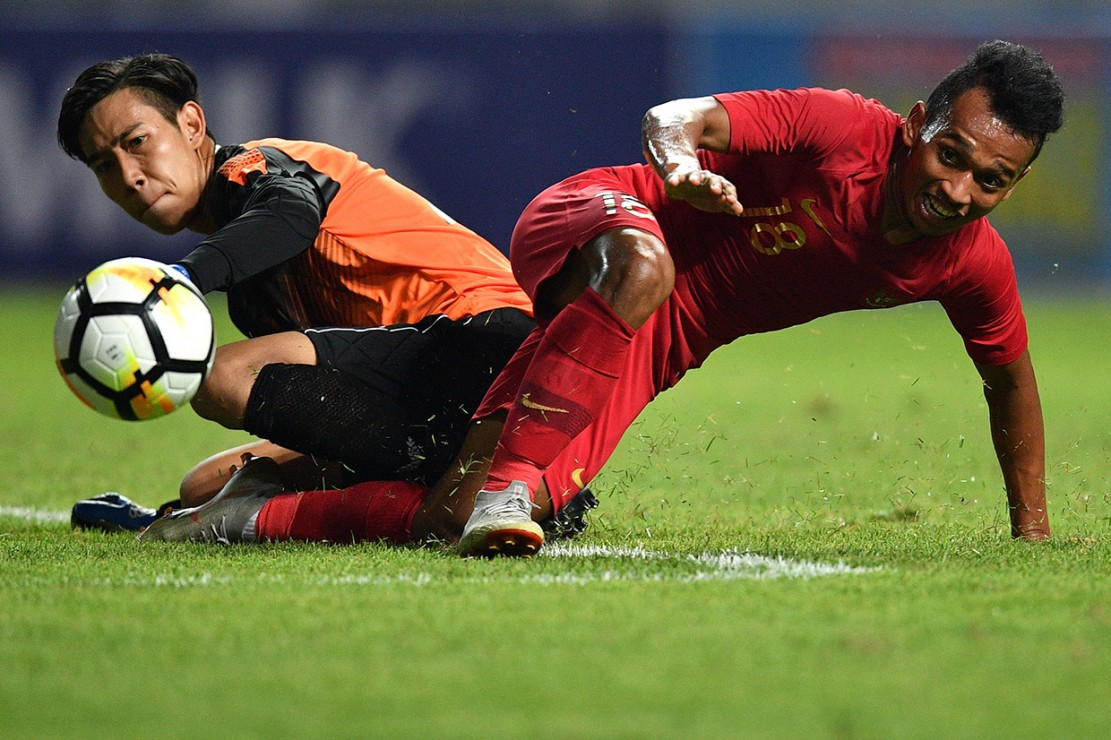 Timnas Indonesia Gilas Myanmar 3-0