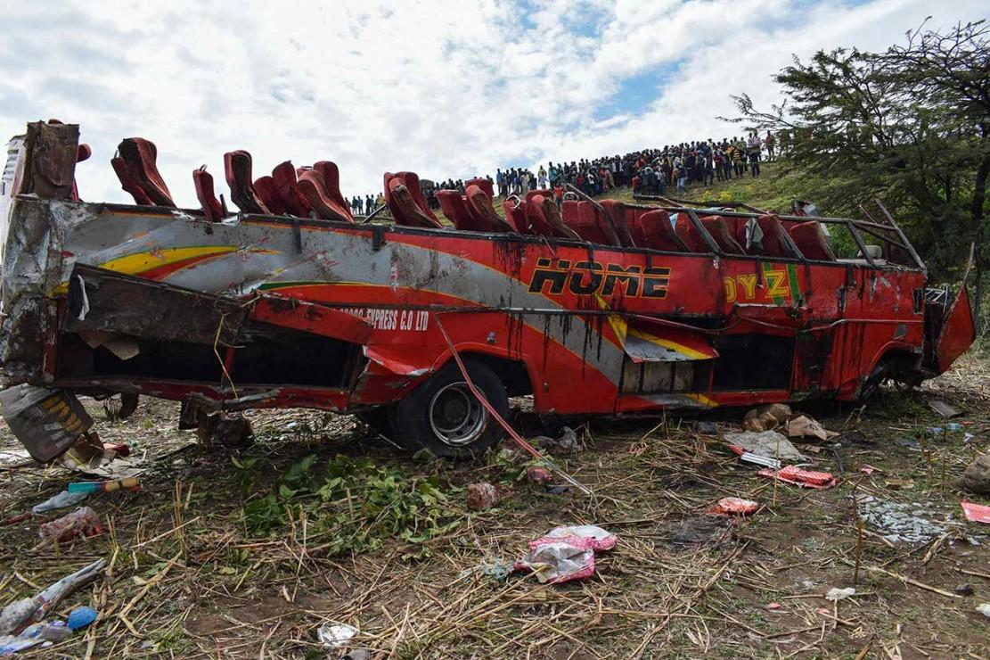 Kecelakaan Lalu Lintas di Kenya Tewaskan 56 Orang