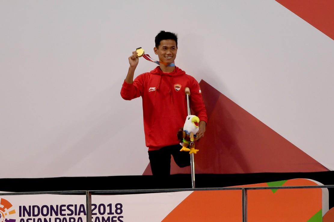Jendi Pangabean Raih Emas ke-24 untuk Indonesia