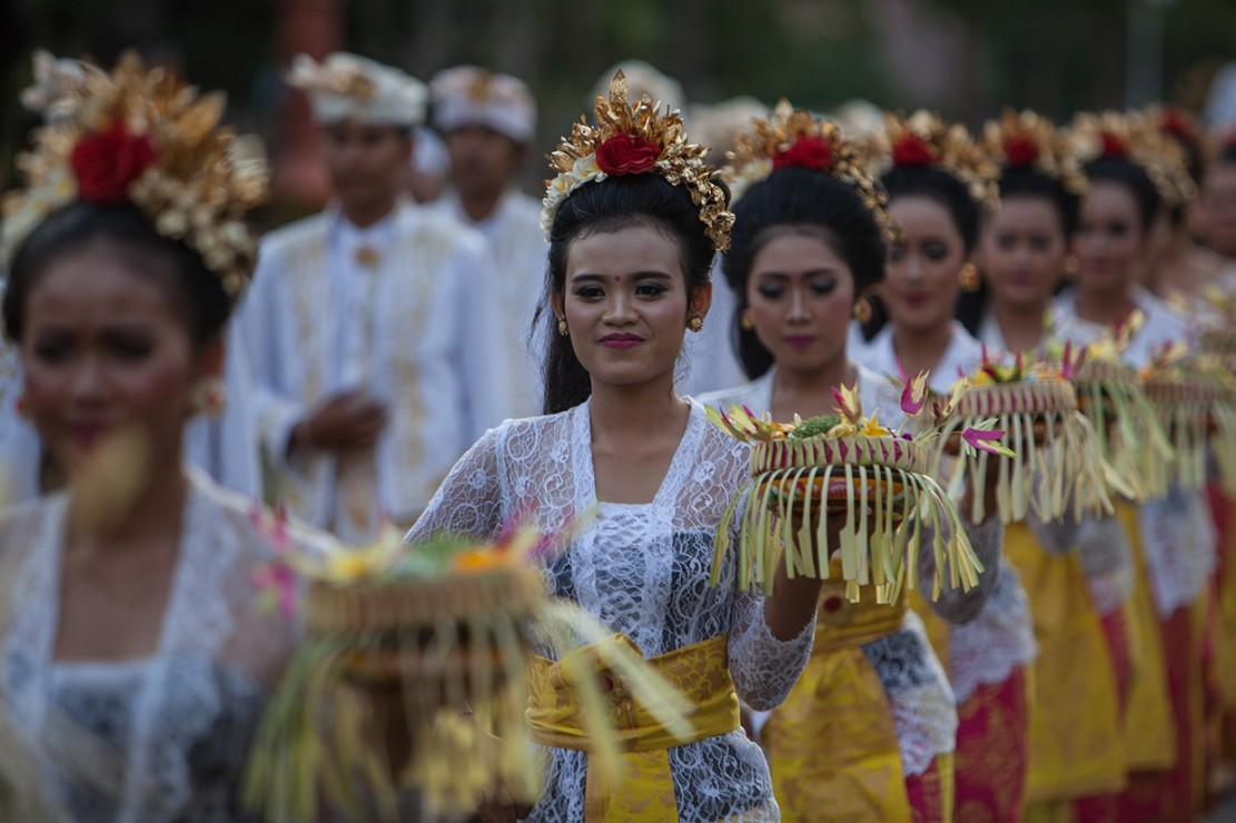 Pesona Budaya Bali di IMF-World Bank 2018