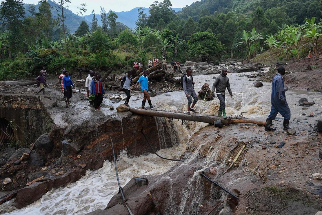 41 Orang Tewas Akibat Longsor di Timur Uganda