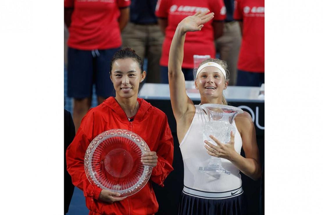Dayana Yastremska Juara Tenis Hong Kong Terbuka