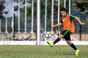 Andalan Timnas U-19 Egy Maulana Vikri mengikuti latihan jelang lawan Qatar. Sebelumnya, di laga perdana Timnas U-19 berhasil mengalahkan Chinese Taipei 3-1.