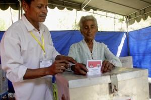 Sebanyak 9.047 orang yang tercantum dalam daftar pemilih tetap (DPT) akan mengikuti PSU di 10 kecamatan, 19 desa dan 30 TPS untuk memilih Bupati-Wakil Bupati kabupaten TTS.