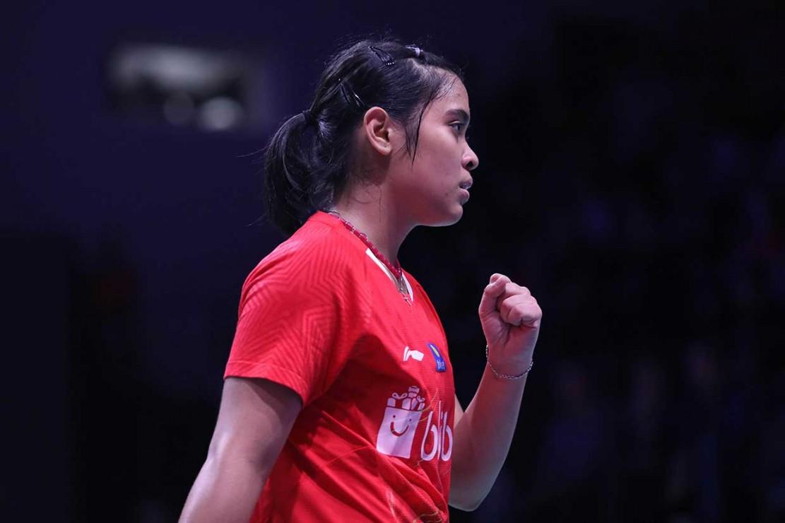Gregoria ke Semifinal Denmark Terbuka