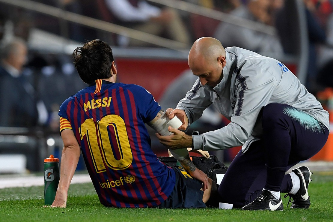 Cedera, Messi Absen di El Clasico