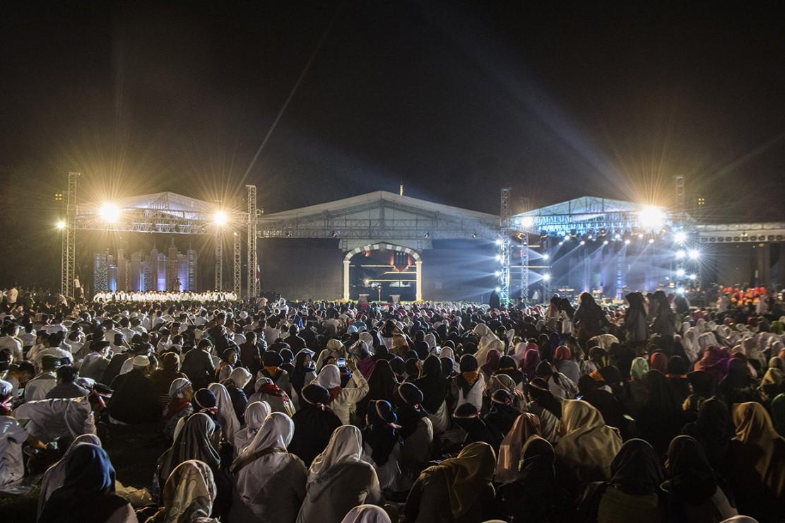 Acara itu merupakan rangkaian terakhir dari perayaan Hari Santri. Kementerian Agama, sejumlah organisasi kemasyarakatan Islam, dan pondok pesantren se-Indonesia sebelumnya telah menggelar sejumlah acara untuk merayakan Hari Santri Nasional.