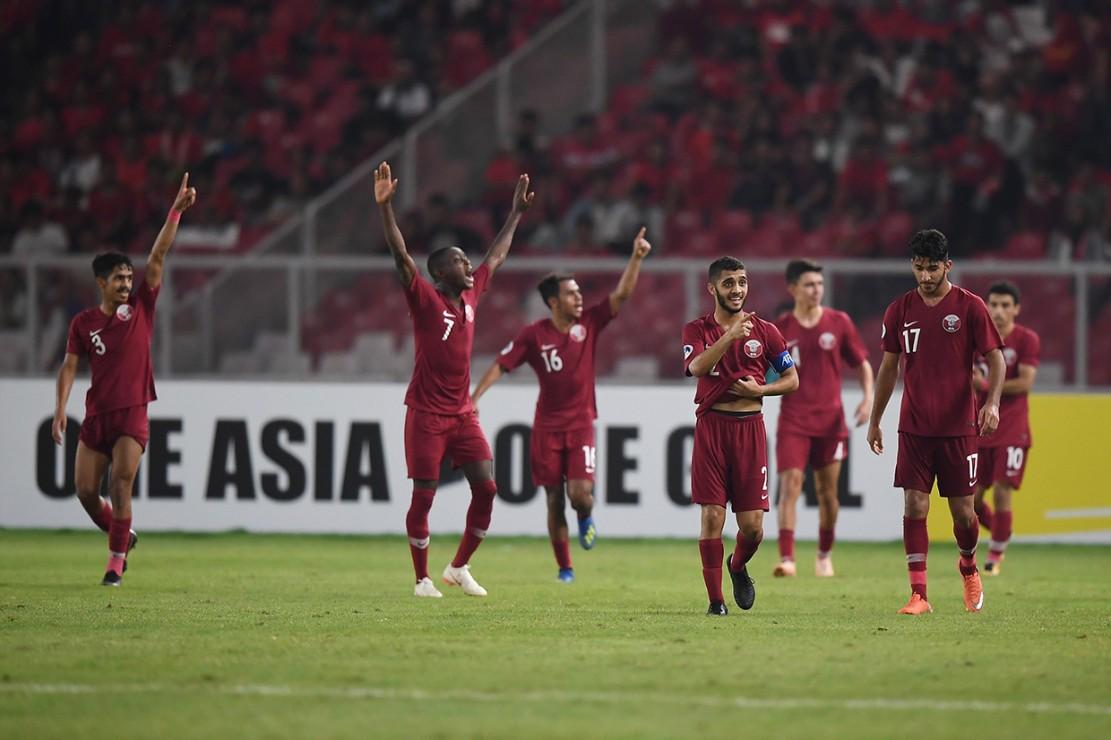 Gol kemenangan Qatar dicetak oleh Hashim Ali (11', 51'), trigol Abdulrasheed Umaru (13', 41, 56') dan Mohammed Waad (24').
