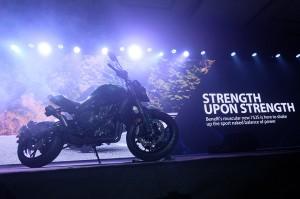 Naked bike sport 752S di produksi di pabrik Benelli yang ada di Tiongkok.