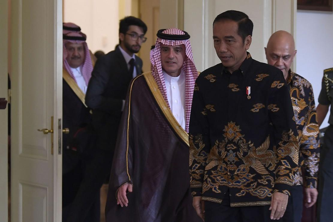 Jokowi Terima Kunjungan Menlu Arab Saudi