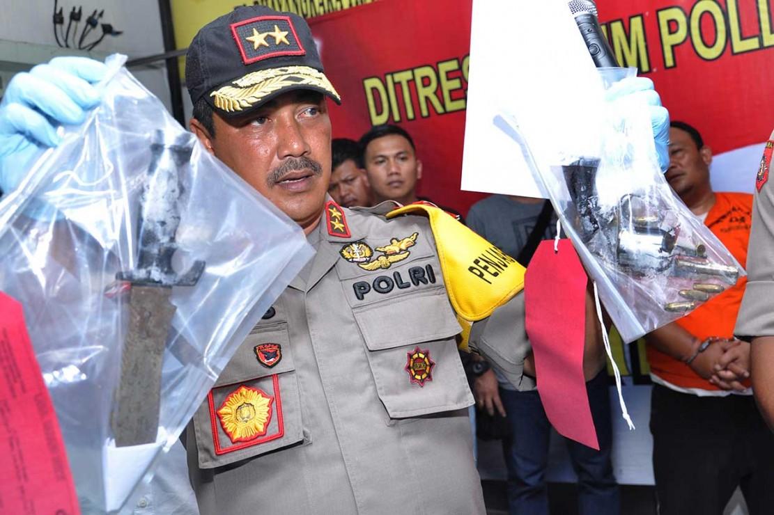 Polisi Ringkus Pelaku Pembunuhan Sekeluarga di Deli Sedang