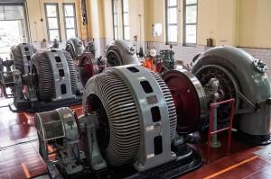 PLTA Bengkok merupakan pembangkit listrik tenaga air peninggalan Belanda yang masih beroperasi mengalirkan listrik untuk Bandung dan sekitarnya.
