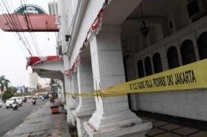 Diskotek Old City di Jakarta Barat disegel petugas Satpol PP DKI Jakarta setelah Badan Narkotika Nasional Provinsi (BNNP) menemukan 52 pengunjung positif memakai narkoba pada Minggu, 21 Oktober dini hari WIB.
