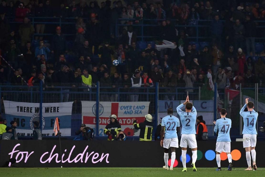 Manchester City Libas Shakhtar Donetsk 3-0